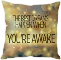 StyBuzz Dream Quote Cushion Cover Cushions Cover - Pack Of 1
