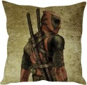 StyBuzz Ninja Warrior Art Cushion Cover Cushions Cover - Pack Of 1