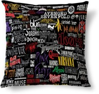 Amy Rock Bands Name Abstract Cushions Cover (40.64 Cm*40.64 Cm, Multicolor)