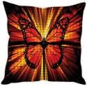 StyBuzz Illuminating Butterfly Cushion Cushions Cover - CPCDWR74KBQ5V9CH