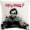 Amore Decor Joker Cushions Cover - Pack Of 1