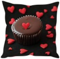 StyBuzz Mini Heart Pie Cushion Cover Cushions Cover - Pack Of 1