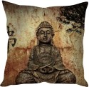StyBuzz Buddha (12x12) Cushions Cover - Pack Of 1