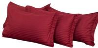 Mark Home Plain Pillows Cover Pack Of 4, 68.58 Cm*45.72 Cm, Maroon