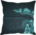 StyBuzz Buddha And Quote (12x12) Cushions Cover - Pack Of 1