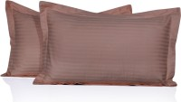 LNT Striped Pillows Cover Pack Of 2, 43.2 Cm*69 Cm, Peach