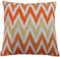 Cotonex Printed Cushions Cover (45 Cm*45 Cm, Orange, White, Yellow)