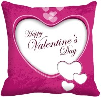 MeSleep Heart Digitally Printed Printed Cushions Cover (1 Digital Cushion Cover Without Filler, 40.64 Cm*40.64 Cm)
