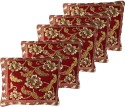 GRJ India Chenille Cushion Pillows Cover - Pack Of 5