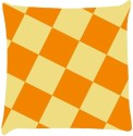 Snoogg Chequered Pattern Design 2273 Throw Pillows 16 X 16 Inch Cushions Cover - Pack Of 1
