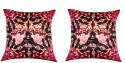 "SEJ By Nisha Gupta HD Digital Print Silk 16"" By 16"" Cushion Cover. Cushions Cover - Pack Of 2 - CPCDYVZ5VWZZNDKH"