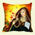 Mesleep Rani Digitally Printed Cushions Cover - Pack Of 1