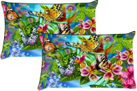 StyleNcomfort Digitally Printed -Size(18x27) Printed Pillows Cover (Pack Of 2, 69*46)