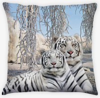 Amore Amore Snow Tiger Cushions Cover