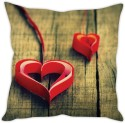 StyBuzz Paper Coil Heart Cushion Cover Cushions Cover - Pack Of 1