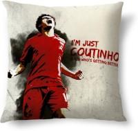 ShopMantra Coutinho Liverpool FC Printed Cushions Cover (Cushion Pillow Cover, 40.64 Cm*40.64 Cm)