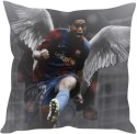 StyBuzz Ronaldinho Cushions Cover - Pack Of 1 - CPCDXENJVRG9YFWJ