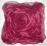 Al Falah International Solid Cushions Cover (Pack Of 5, 45 Cm*45 Cm, Maroon)