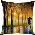 StyBuzz Walk In The Rain Cushions Cover - Pack Of 1
