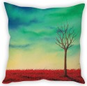 StyBuzz Lone Tree Art Cushion Cover Cushions Cover - Pack Of 1