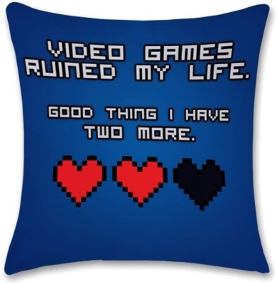 Bluegape Video Games Cushions Cover Pack of 1