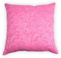 House This Floral Floral Cushions Cover (16*16, Pink)