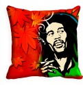 MeSleep Man With Afro Cut Digitally Printed Cushions Cover - Pack Of 1