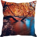 StyBuzz Tree On River Bank Cushions Cover - Pack Of 1