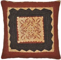 Lal Haveli Rajasthani Handmade Cut Work Abstract Cushions Cover (Cushion Cover, 60.96 Cm*60.96 Cm)