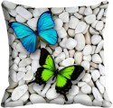 MeSleep Colorful Butterfly Digitally Printed Cushions Cover - Pack Of 1
