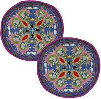 Lal Haveli Embroidered Cushions Cover (Pack Of 2, 46 Cm*46 Cm, Blue)