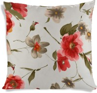 ShopMantra Vector Flower Cushion Cover Printed Cushions Cover (Cushion Pillow Cover, 40 Cm*40 Cm)