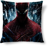 Amy Amazing Spider Man Abstract Cushions Cover (40.64 Cm*40.64 Cm, Multicolor)