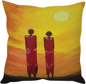 StyBuzz Modern Art Painting Art Cushions Cover - Pack Of 1
