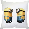 StyBuzz Cute Minions (12x12) Cushions Cover - Pack Of 1