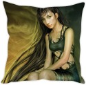 StyBuzz Long Hair Girl Cushion Cushions Cover - CPCDWR74G5FKTJHJ