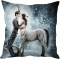 StyBuzz Capricorn And Sagittarius Love Cushions Cover - Pack Of 1