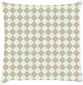 Snoogg Chequered Pattern Design 996 Throw Pillows 16 X 16 Inch Cushions Cover - Pack Of 1
