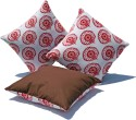 Sriam Eclipse Flora Cushions Cover - Pack Of 3