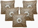Dekor World Floral Bonanza Cushions Cover - Pack Of 5