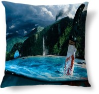 Amy Murder Knife Sea Abstract Cushions Cover (40.64 Cm*40.64 Cm)
