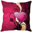 StyBuzz Heart Abstract Cushion Cover Cushions Cover - Pack Of 1