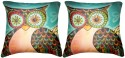 Belkado Digital Print - Combo Of Painting Of Love And Rose Cushions Cover - Pack Of 2