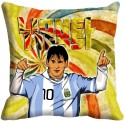 MeSleep Lionel Messi Digitally Printed Cushions Cover - Pack Of 1
