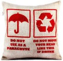Happily Unmarried India Cushion Cover - Pack Of 1 - CPCDV9YNXYVBKPGQ