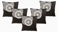 Dekor World Rose Patch Work Collection Cushions Cover (Pack Of 5)
