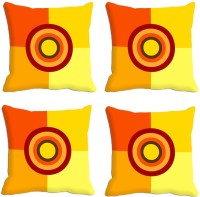 Mesleep Abstract Cushions Cover (Pack Of 4, 30.48 Cm*30.48 Cm, Multicolor)