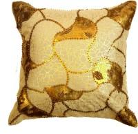 Kairan Jaipur Plain Cushions, Pillows Cover 45 Cm*45 Cm, Gold