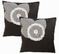 Dekor World Rose Patch Work Collection Cushions Cover (Pack Of 2)