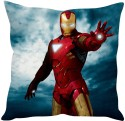 StyBuzz Iron Man (12x12) Cushions Cover - Pack Of 1